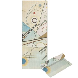 Kandinsky Composition 8 Yoga Mat - Printable Front and Back