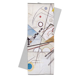 Kandinsky Composition 8 Yoga Mat Towel