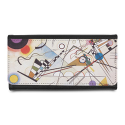 Kandinsky Composition 8 Leatherette Ladies Wallet