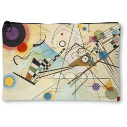 Kandinsky Composition 8 Zipper Pouch