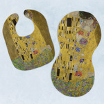 The Kiss (Klimt) - Lovers Baby Bib & Burp Set