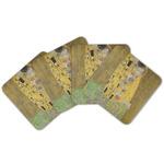 The Kiss (Klimt) - Lovers Cork Coaster - Set of 4