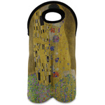 The Kiss (Klimt) - Lovers Wine Tote Bag (2 Bottles)