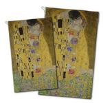 The Kiss (Klimt) - Lovers Golf Towel - Full Print