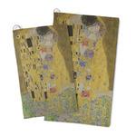 The Kiss (Klimt) - Lovers Microfiber Golf Towel