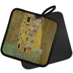 The Kiss (Klimt) - Lovers Pot Holder