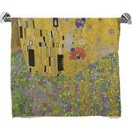 The Kiss (Klimt) - Lovers Bath Towel