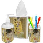 The Kiss (Klimt) - Lovers Acrylic Bathroom Accessories Set