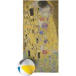 The Kiss (Klimt) - Lovers Beach Towel