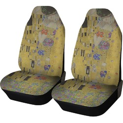 The Kiss (Klimt) - Lovers Car Seat Covers (Set of Two)
