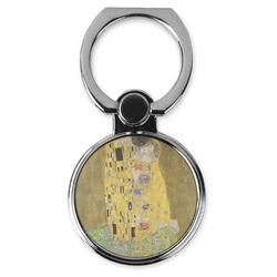 The Kiss (Klimt) - Lovers Cell Phone Ring Stand & Holder