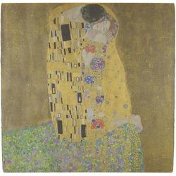 The Kiss (Klimt) - Lovers Ceramic Tile Hot Pad