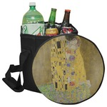 The Kiss (Klimt) - Lovers Collapsible Cooler & Seat