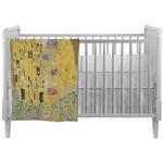 The Kiss (Klimt) - Lovers Crib Comforter / Quilt