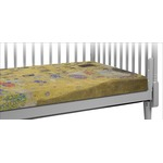 The Kiss (Klimt) - Lovers Crib Fitted Sheet