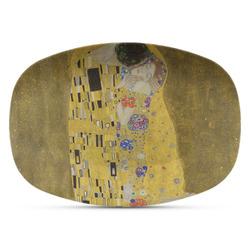 The Kiss (Klimt) - Lovers Plastic Platter - Microwave & Oven Safe Composite Polymer