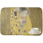 The Kiss (Klimt) - Lovers Dish Drying Mat