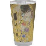 The Kiss (Klimt) - Lovers Drinking / Pint Glass