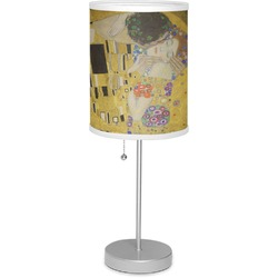 """The Kiss (Klimt) - Lovers 7"""" Drum Lamp with Shade"""