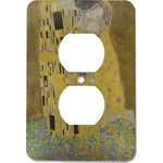 The Kiss (Klimt) - Lovers Electric Outlet Plate