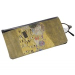 The Kiss (Klimt) - Lovers Genuine Leather Eyeglass Case