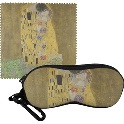 The Kiss (Klimt) - Lovers Eyeglass Case & Cloth