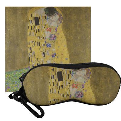 The Kiss (Klimt) - Lovers Eyeglass Case & Cloth
