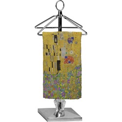 The Kiss (Klimt) - Lovers Finger Tip Towel - Full Print