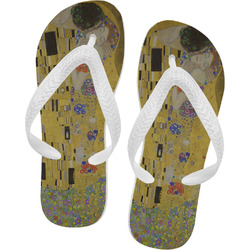 The Kiss - Lovers Flip Flops - Large