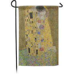 The Kiss (Klimt) - Lovers Garden Flag - Single or Double Sided
