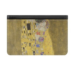 The Kiss (Klimt) - Lovers Genuine Leather ID & Card Wallet - Slim Style