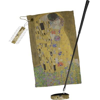 The Kiss (Klimt) - Lovers Golf Towel Gift Set
