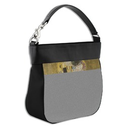 The Kiss - Lovers Hobo Purse w/ Genuine Leather Trim
