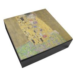 The Kiss - Lovers Leatherette Keepsake Box - 8x8
