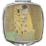The Kiss (Klimt) - Lovers Compact Makeup Mirror