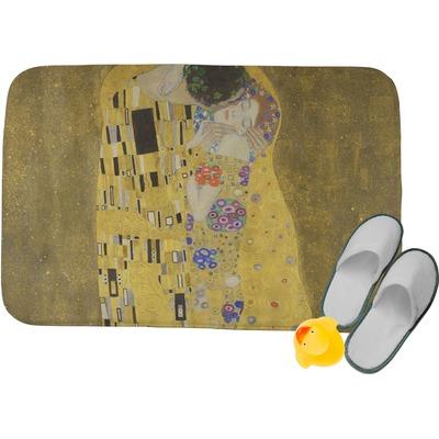 The Kiss (Klimt) - Lovers Memory Foam Bath Mat