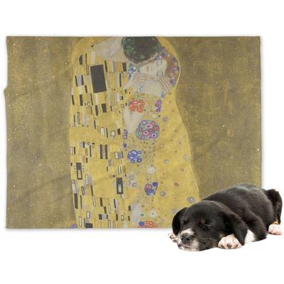 The Kiss (Klimt) - Lovers Dog Blanket