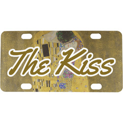 The Kiss (Klimt) - Lovers Mini / Bicycle License Plate