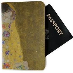 The Kiss (Klimt) - Lovers Passport Holder - Fabric