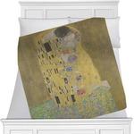 The Kiss (Klimt) - Lovers Minky Blanket