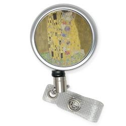 The Kiss (Klimt) - Lovers Retractable Badge Reel