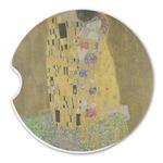 The Kiss (Klimt) - Lovers Sandstone Car Coasters