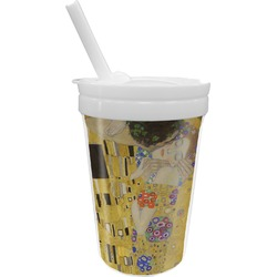 The Kiss (Klimt) - Lovers Sippy Cup with Straw