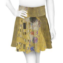 The Kiss (Klimt) - Lovers Skater Skirt