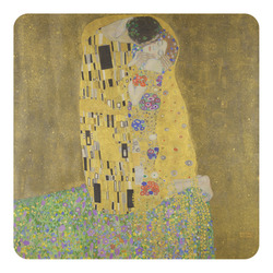 The Kiss (Klimt) - Lovers Square Decal