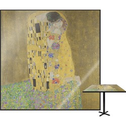The Kiss (Klimt) - Lovers Square Table Top