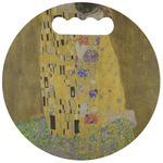 The Kiss (Klimt) - Lovers Stadium Cushion (Round)