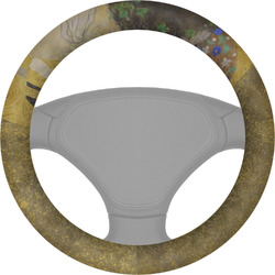 The Kiss (Klimt) - Lovers Steering Wheel Cover