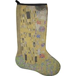 The Kiss (Klimt) - Lovers Christmas Stocking - Neoprene