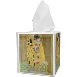 The Kiss (Klimt) - Lovers Tissue Box Cover